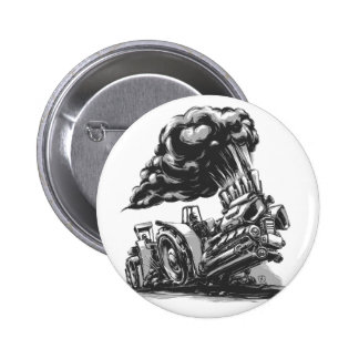 Tractor Pulling Pinback Buttons