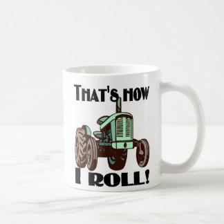 """Tractor - """"que es cómo ruedo"""" la taza de café"""