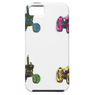 tractor rainbow iPhone SE/5/5s case