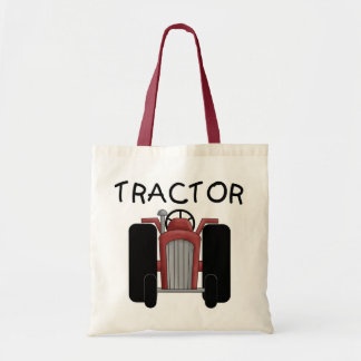 TRACTOR- Red T-shirts and Gifts Tote Bag