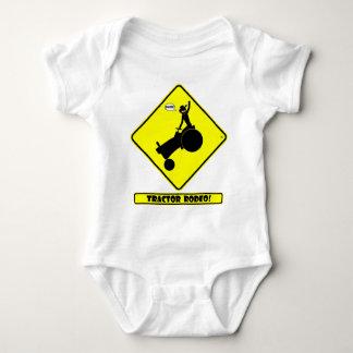 TRACTOR RODEO 1y Baby Bodysuit