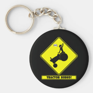 TRACTOR RODEO 1y Keychain