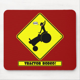 TRACTOR RODEO 1y Mouse Pad
