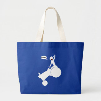TRACTOR RODEO c1 Large Tote Bag