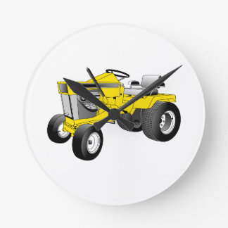 Tractor Round Clock
