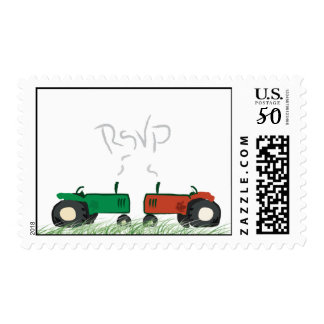 Tractor RSVP Postage
