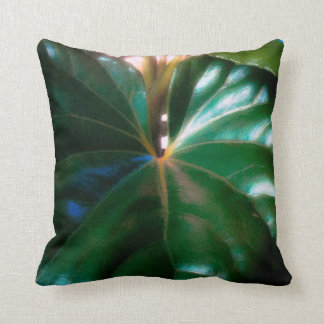 Tractor Seat Plant Throw Pillow