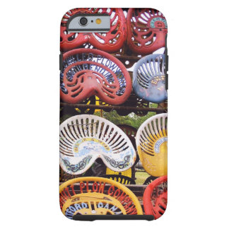 Tractor Seats at Tractor Show Tough iPhone 6 Case