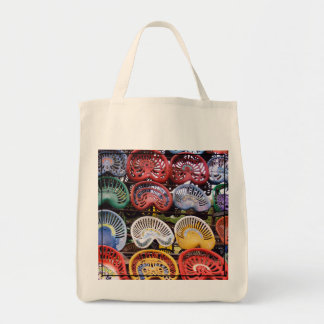 Tractor Seats at Tractor Show Tote Bag