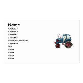 tractor-sello, nombre, dirección 1, dirección 2, C Tarjetas De Negocios