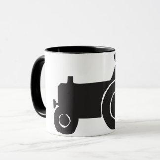 Tractor Silhouette Mug
