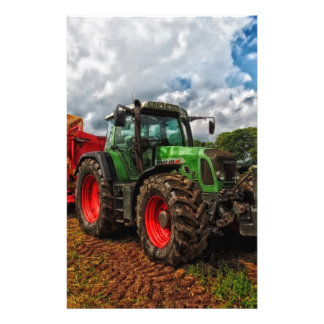 tractor stationery