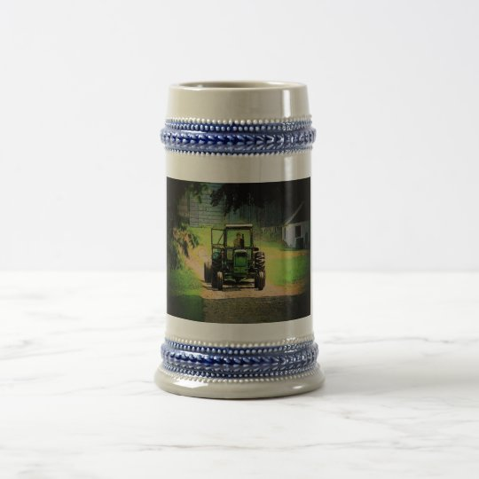 Tractor Stein