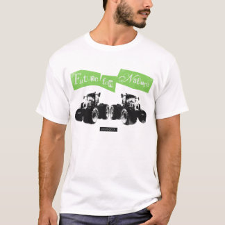 Tractor T shirt letter kimidori