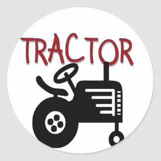 TRACTOR T-shirts and Gifts Classic Round Sticker