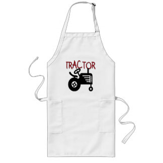 TRACTOR T-shirts and Gifts Long Apron