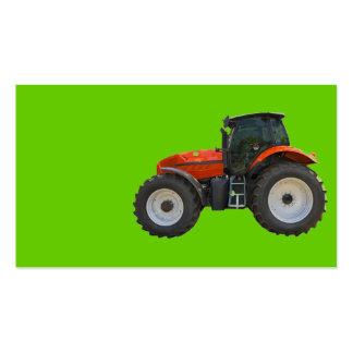 tractor tarjetas de visita