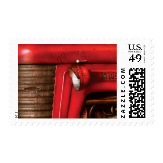Tractor - The Tractor Postage Stamp