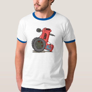 Tractor Tipped Over Shirt