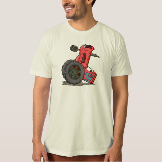Tractor Tipped Over T Shirt