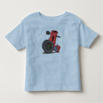 Tractor Tipped Over Toddler T-shirt