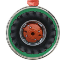 Tractor Tire Christmas Ornament