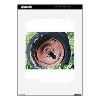 Tractor Tire Decals For iPad 2