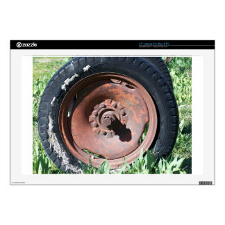 Tractor Tire Laptop Skins