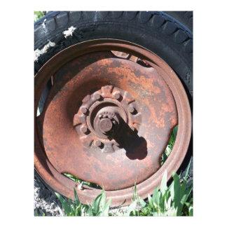 Tractor Tire Letterhead