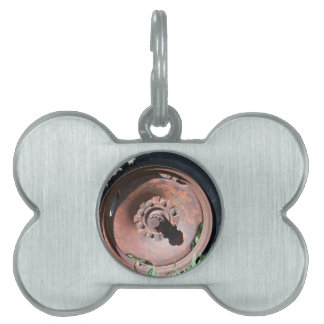 Tractor Tire Pet ID Tag