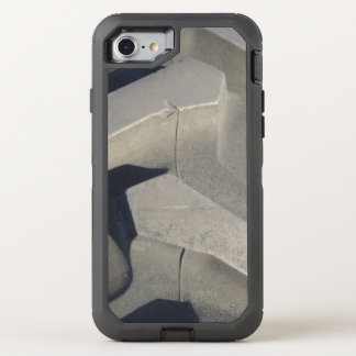 Tractor tire photo OtterBox defender iPhone 8/7 case