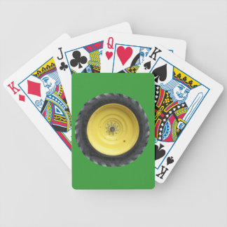 Tractor Tire Playing Cards
