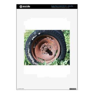 Tractor Tire Skin For iPad 3