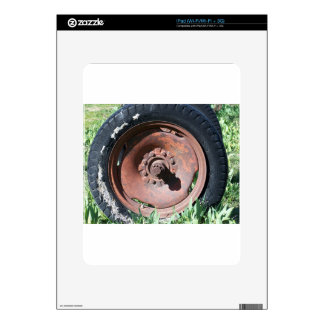 Tractor Tire Skins For iPad
