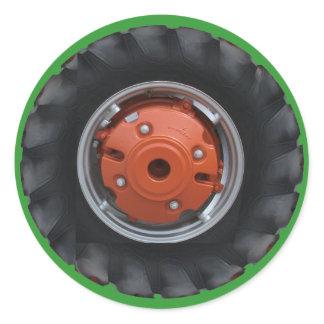 Tractor Tire Sticker
