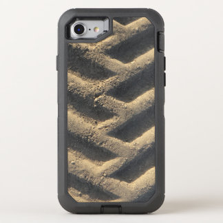 Tractor tire tracks photo OtterBox defender iPhone 7 case