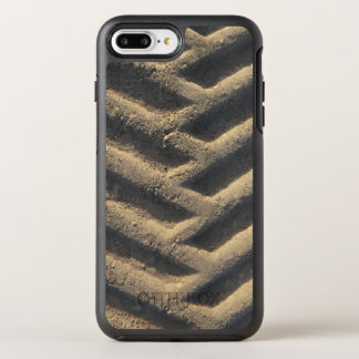 Tractor tire tracks photo OtterBox symmetry iPhone 8 plus/7 plus case