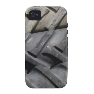 Tractor Tire Treads iPhone 4/4S Cases