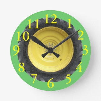 Tractor Tire Wall Clock