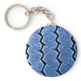 Tractor tire with frost keychain