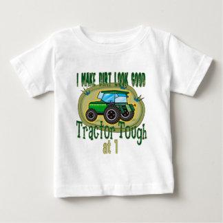 Tractor Tough 1st Birthday Baby T-Shirt