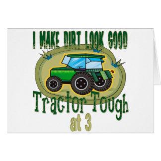 Tractor Tough 3 Card