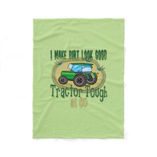 Tractor Tough at 60 Fleece Blanket