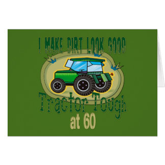 Tractor Tough at 60 Stationery Note Card