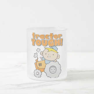 Tractor Tough T-shirts and Gifts 10 Oz Frosted Glass Coffee Mug