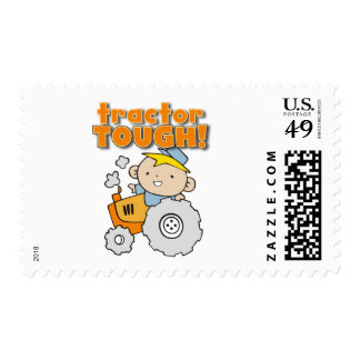 Tractor Tough T-shirts and Gifts Postage Stamps