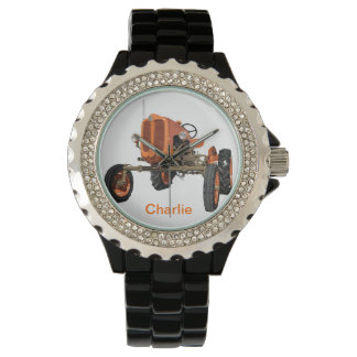Tractor Travels Wrist Watch