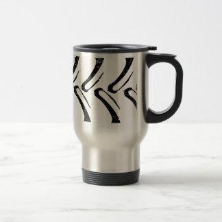 Tractor Tread Grunge Travel Mug