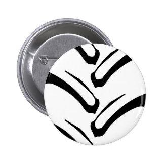 Tractor Tread Pattern Button