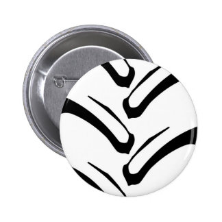 Tractor Tread Pattern Pinback Button